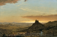 Cross in the Wilderness painting reproduction, Frederic Edwin Church