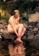 Dagmar painting reproduction, Anders Zorn
