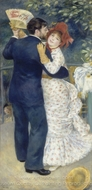 Dance in the Country (Dance at Chatou) painting reproduction, Pierre-Auguste Renoir