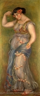 Dancing Girl with Castanets painting reproduction, Pierre-Auguste Renoir