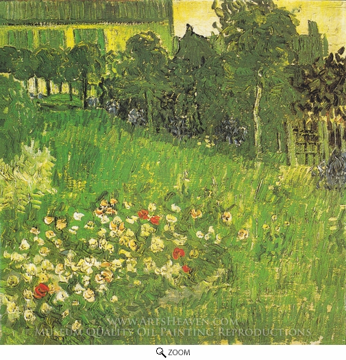 Vincent Van Gogh, Daubigny's Garden oil painting reproduction