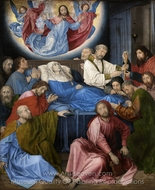 Death of the Virgin painting reproduction, Hugo Van Der Goes