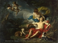 Diana and Endymion painting reproduction, Pierre Subleyras