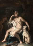 Diana and Her Dog painting reproduction, Sebastiano Ricci