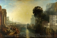 Dido Building Carthage painting reproduction, J.M.W. Turner