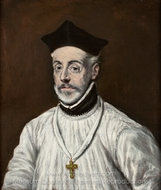 Diego de Covarrubias painting reproduction, El Greco