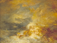 Disaster at Sea painting reproduction, J.M.W. Turner