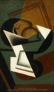Dish of Fruit painting reproduction, Juan Gris
