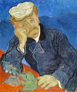 Dr. Paul Gachet painting reproduction, Vincent Van Gogh