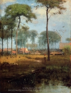Early Morning, Tarpon Springs painting reproduction, George Inness