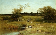 East Hampton Meadows painting reproduction, George Henry Smillie