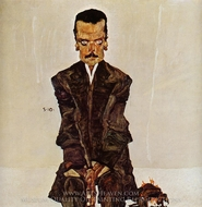 Eduard Kosmack painting reproduction, Egon Schiele