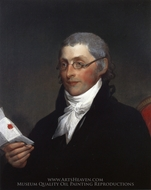 Edward Penington painting reproduction, Gilbert Stuart