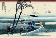Ejiri in the Suruga Province painting reproduction, Katsushika Hokusai