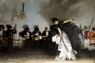 El Jaleo painting reproduction, John Singer Sargent