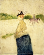 Emilie painting reproduction, Henri De Toulouse-Lautrec