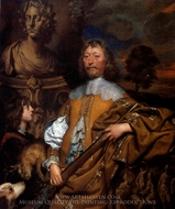 Endymion Porter painting reproduction, William Dobson