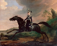 Equestrian Portrait of Grand Prince Alexander Nikolayevich painting reproduction, Franz Kruger