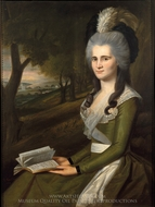 Esther Boardman painting reproduction, Ralph Earl