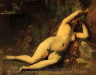 Eve After the Fall painting reproduction, Alexandre Cabanel