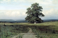 Expanse painting reproduction, Ivan Shishkin