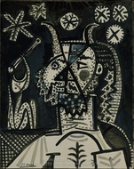 Faun with Stars painting reproduction, Pablo Picasso (inspired by)