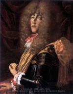 Ferdinando Carlo de Gonzague painting reproduction, Frans Geffels