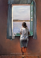 Figure at a Window painting reproduction, Salvador Dal� (inspired by)