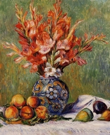 Flowers and Fruit painting reproduction, Pierre-Auguste Renoir