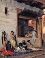 For Sale (The Slave Market) painting reproduction, Jean-Leon Gerome