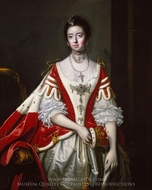 Frances, the Countess of Dartmouth painting reproduction, Sir Joshua Reynolds