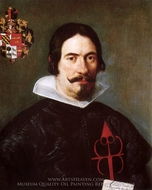 Francisco Bandres de Abarca painting reproduction, Diego Velazquez
