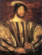 Francois I painting reproduction, Francois Clouet
