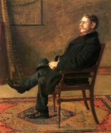 Frank Jay St. John painting reproduction, Thomas Eakins
