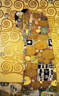 Fulfilment painting reproduction, Gustav Klimt