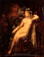 Galatea painting reproduction, Gustave Moreau