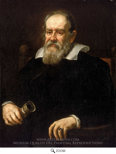 Justus Sustermans, Galileo Galilei oil painting reproduction