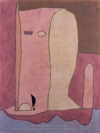 Gartenfigur painting reproduction, Paul Klee