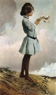 Geraldine Russell painting reproduction, John White Alexander