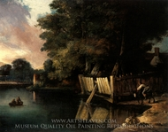 Gibraltar Watering Place Heigham painting reproduction, John Crome