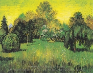 Glade in a Park painting reproduction, Vincent Van Gogh