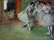Group of Dancers painting reproduction, Edgar Degas