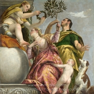 Happy Union painting reproduction, Paolo Veronese