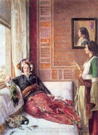 Harem Life In Constantinople painting reproduction, John Frederick Lewis