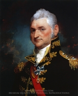 Henry Dearborn painting reproduction, Gilbert Stuart