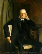 Henry G. Marquand painting reproduction, John Singer Sargent