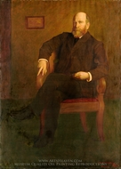 Henry George painting reproduction, George DeForest Brush