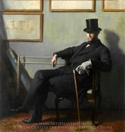 Herbert Barnard John Everett painting reproduction, Sir William Orpen