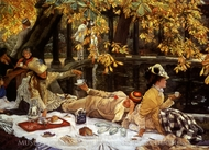 Holiday (The Picnic) painting reproduction, James Tissot
