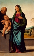 Holy Family painting reproduction, Fra Bartolommeo